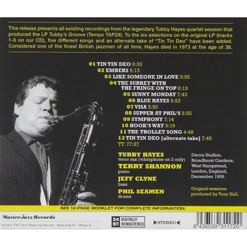 The Complete Tubby`s Groove - Jazz Messengers