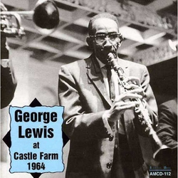 George Lewis at Castle Farm 1964
