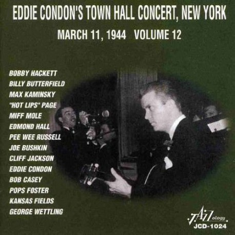 Town Hall Concert, Ny, March 11, 1944 - Vol. 12