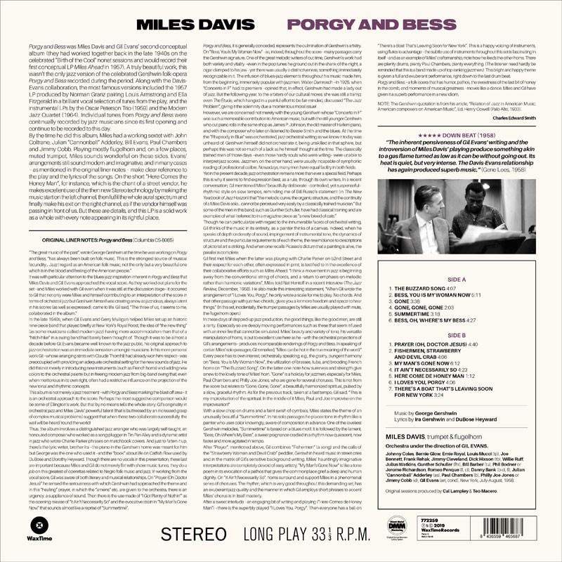 Porgy And Bess Jazz Messengers