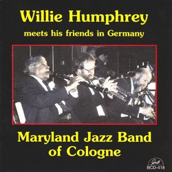 Plays with the Maryland Jazz Band of Cologne