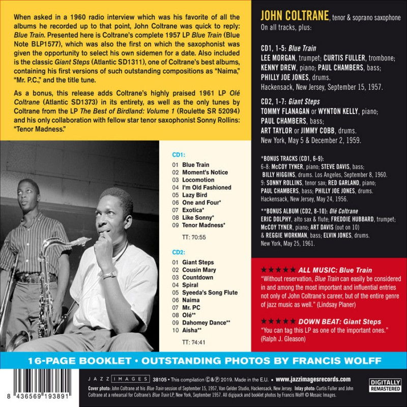 Blue Train + Giant Steps - Jazz Messengers