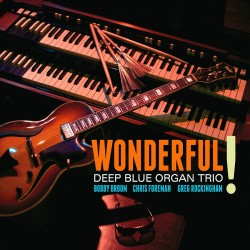 Wonderful ! - Deep Blue Organ Trio