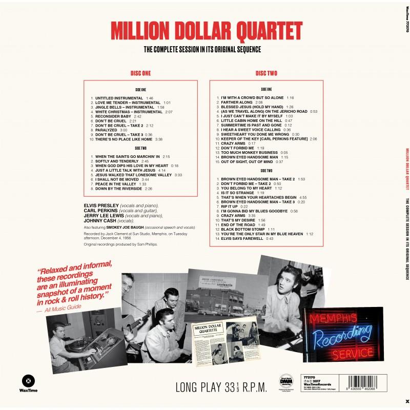 Million Dollar Quartet: The Complete Session - Jazz Messengers