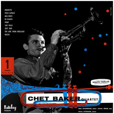 Chet Baker Quartet 1955 - 180 Gram Limited Edition
