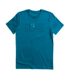 "ECM T-Shirt ""Directions…"" ozean depth (size XL)"