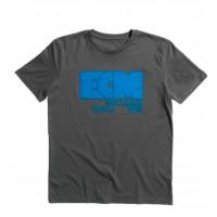 "ECM T-Shirt ""Logo 1969"" anthracite grey (size S)"