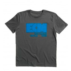 "ECM T-Shirt ""Logo 1969"" anthracite grey (size XL)"