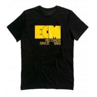 "ECM T-Shirt ""Logo 1969"" black (size S)"