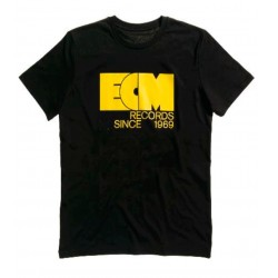 "ECM T-Shirt ""Logo 1969"" black (size L)"