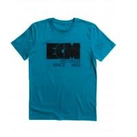 "ECM T-Shirt ""Logo 1969"" ozean depth (size S)"