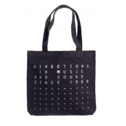 "ECM Tote Bag ""Directions in music…"" black"