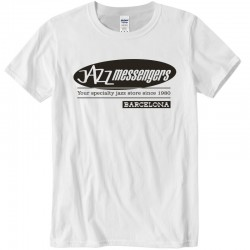 Jazz Messengers BCN T-Shirt - White XL Size