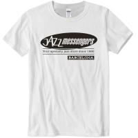 Jazz Messengers BCN T-Shirt - White XL Size