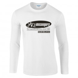 Jazz Messengers BCN T-Shirt - White Long Sleeve XL