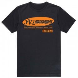 Jazz Messengers Lisbon T-Shirt - Black L Size