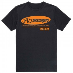 Jazz Messengers Lisbon T-Shirt - Black XL Size