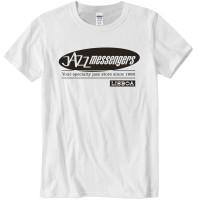 Jazz Messengers Lisbon T-Shirt - White L Size