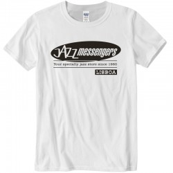 Jazz Messengers Lisbon T-Shirt - White XL Size