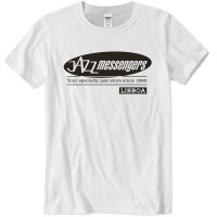 Jazz Messengers Lisbon T-Shirt - White XL Size