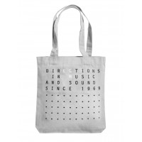 "ECM Tote Bag ""Directions in music…"" Grey"