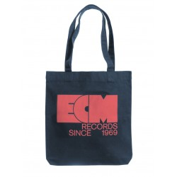 "ECM Tote Bag ""Old School Logo"" Midblue"