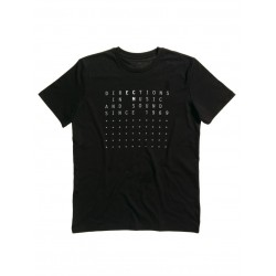 "ECM T-Shirt ""Directions in Music…"" black, size XXL"