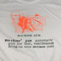 Brotzmann Octet - Machine Gun - Size L