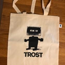 Trost Logo - Tote Bag - Ivory White
