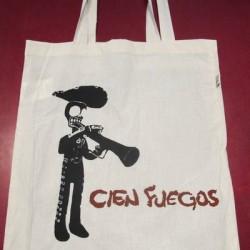 Cien Fuegos - Tote Bag - Ivory White
