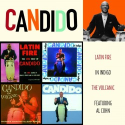 Latin Fire + in Indigo + the Volcanic + F/Al Cohn