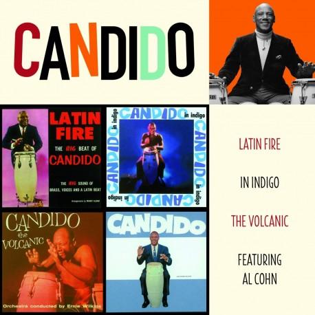 Latin Fire + in Indigo + the Volcanic + F/Al Cohn