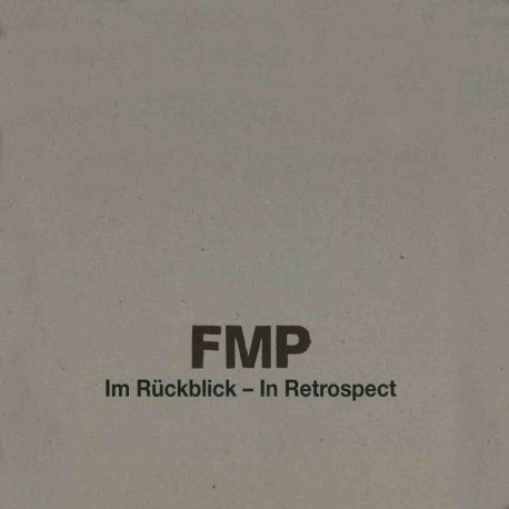 Fmp in Retrospect - Im Ruckblick - Ltd Edition