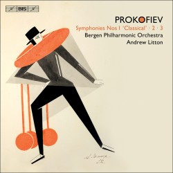 Prokofiev - Symphonies Nºs 1 'Clasical', 2, 3