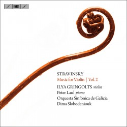 Stravinsky: Music for Violin Vol. 2