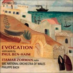 Paul Ben-Haim - Evocation: Works for the Violin