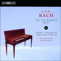 C.P.E. Bach - Solo Keyboard Music, Vol.37