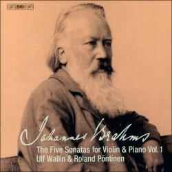 Brahms: Five Sonatas for Violin & Piano, Vol.1
