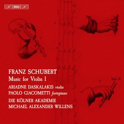 Schubert - Music for Violin - Vol. 1