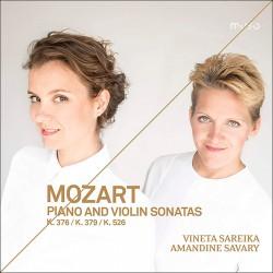 Mozart: Piano & Violin Sonatas K. 376, 379, 526
