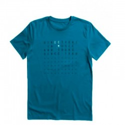 "ECM T-Shirt ""Directions…"" ozean depth (size XXL)"