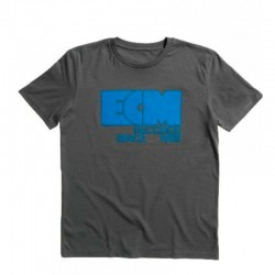 "ECM T-Shirt ""Logo 1969"" anthracite grey (size XXL)"