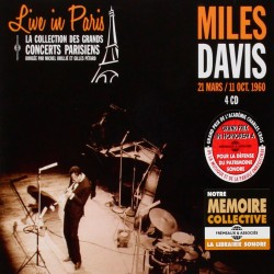 Live in Paris - March and October 1960