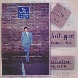 Vol. 3 - the Croydon Concert - May 14, 1981