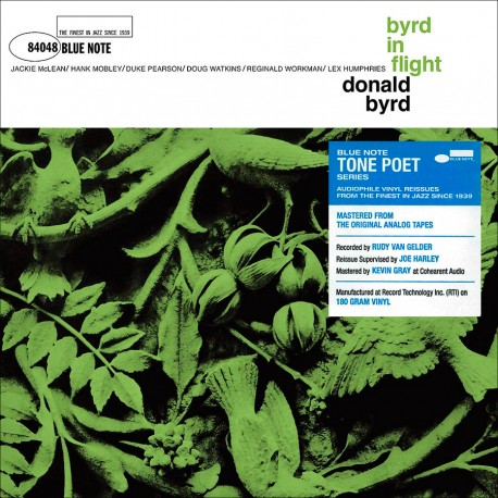 Byrd In Flight' - Blue Note Tone Poet Series