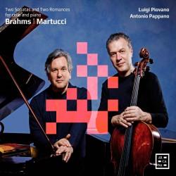 Brahms:2 Sonatas for Cello & Piano - Martucci