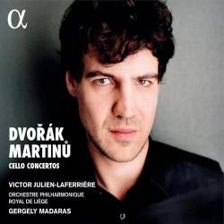 Dvorak & Martinu: Cello Concertos