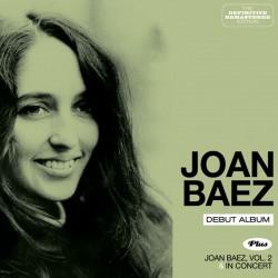 Debut Album + Joan Baez Vol. 2 and in Concert