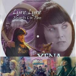 Xena - Warrior Princess - Lyre, Lyre Hearts on Fir