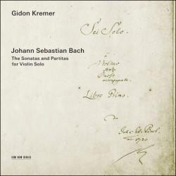 J.S. Bach: Sonatas and Partitas for Violin Solo